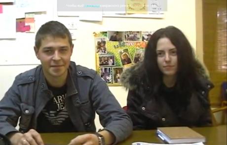 Кибуц Ифтах, февраль 2011, видео интервью #2