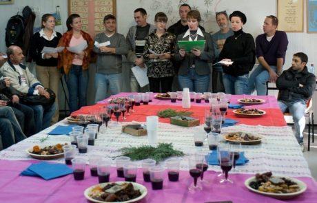 Праздник Ханука в ульпане Цемах в  Иорданской долине