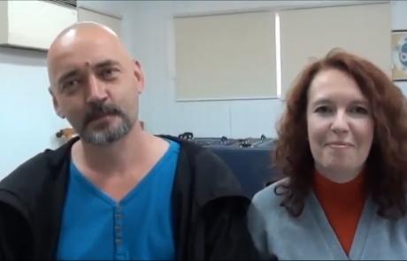 Дибровы Станислав и Оксана с сыном репатриировались в марте 2016 года  из Одессы в кибуц Хукук