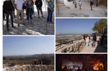 Заключительная экскурсия в Бейт Гуврин и в сталактитовую пещеру — ульпан закончен!