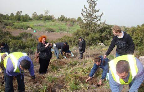 Группа участников проекта для медработников в кибуце Мерхавия — зима 2012 года.