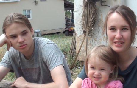 Павел Сурков и Лукерия Пищик репатриировались с 2-летней дочкой на север Израиля в кибуц Хукук в марте 2021 года из Тверив